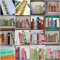 books on shelves quilt | bookshelf quilt block inspiration...a great quilt gift idea for Cody