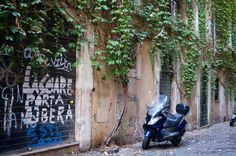 Graffiti in Rome Italy