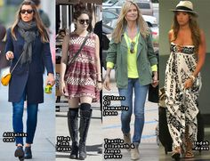Shop Her Closet:\ Ashley Madekwe's Madewell lace top and J Brand Lynn shorts worn out in LA. Rosie Huntington-Whiteley's Jimmy Choo 'Maya' studded pumps worn out in London. Alessandra Ambrosio's Topshop knitted fluro weave jumper worn out in LA. Kate Beckinsale's Skaist Taylor 'Sophie' dress worn out in LA and Rachel Bilson's Étoile Isabel Marant 'Daryl' dress worn on vacation in Barbados.