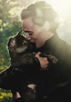 The most adorable person with the most adorable puppy!!!?? Now they've just crossed the line!