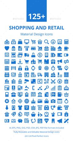 125+ Shopping and Retail Icons Set. Download here: https://graphicriver.net/item/125-shopping-and-retail-icons-set/17672095?ref=ksioks