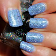 Enchanted Polish Rainbow Juice (with pulp) (Over Blue-Eyed Girl Lacquer Sordid End)