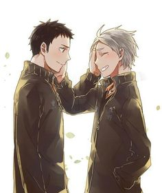 """Polubienia: 1,489, komentarze: 1 – BL YAOI HERE BL (@fujoshi_kohai) na Instagramie: """"Daichi is looking really mature ~~ He'll be able to look after Sugawara 