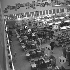 Rostock Kaufhalle October 1968,GDR