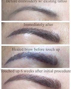 Microblading expectations Permanent Makeup