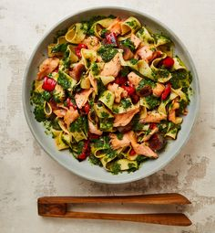 Lemon, aubergine and confit salmon: Yotam Ottolenghi's pasta recipes
