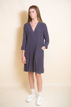 Just Female Lola Dress / Anthracite