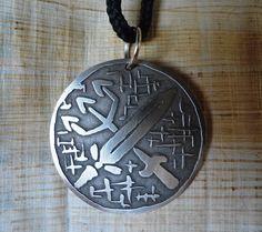pingente ogum xoroque - pingente orixás - ogum - exu African, Tattoos, Charms, Accessories, Angels And Demons, Religious Art, Metal Art, Pendants, Diy Kid Jewelry