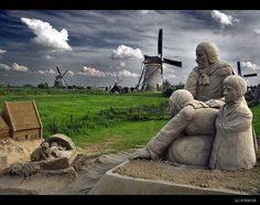 The Story of Kinderdijk by B'Rob