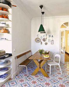 Vintage apartment in Madrid