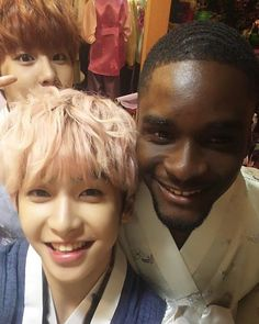 160217 10TION Note Update - Wooshin & Xiao with Sam Okyere - #up10tion…