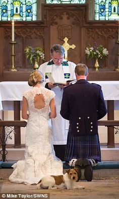 My vision for Shawn's and my wedding includes Jacky Murph joining us as we make our vows.