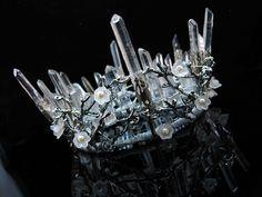 Quartz Crown Crystal Crown Branch Crown Wedding Crown Headpiece Elven Crown…