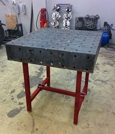 Сварочный стол BigBender v2.0 (800x800 мм) | Compact welding table v2.0 Welding Table, Welding Projects, Cool Stuff, Metal, Furniture, Compact, Home Decor, Furniture For Small Spaces, Decoration Home