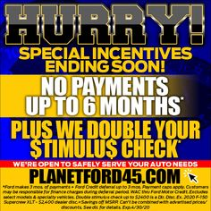 Don't miss it! Final day for this month's amazing deals available at #PlanetFord in #Spring. Get unprecedented offer @ PlanetFord45.com. #ShopAndBuyOnline #ServingYouSafely #AllInThisTogether Final Days, Planets, Finance, Ford, How To Apply, Spring, Amazing, Economics, Ford Trucks