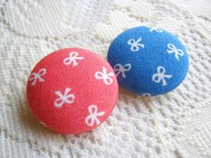 Ribbon Fabric Buttons