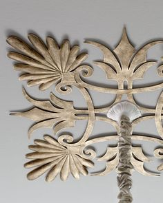 Acanthus Ceiling Medallion at Horchow.
