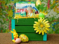 The experts at DIYNetwork.com share 15 themed Easter basket ideas that aren't filled with sugary snacks.