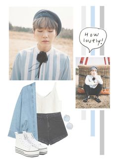 """Min Yoongi"" by lazy-alien ❤ liked on Polyvore featuring Steve J & Yoni P, bts, Suga and minyoongi"
