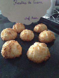 Pour passer un bon gateaux, nous vous proposons une recette de Rochers coco . recette de cuisine, facile et rapide, par Les gourmands mediterraneens