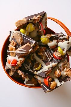 Peanut Butter Toffee Bark
