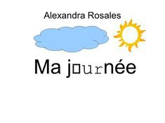 Alexandra Rosales Ma journée.> Ab Initio, French Language Lessons, Teaching French, Grammar, Communication, Abs, English, Animation, French Tips