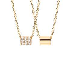 #MelissaKayeJewelry Ellie #necklace in #18k yellow #gold with #diamonds #jewelry…