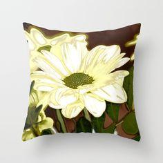 Amazing garden flowers 26 Throw Pillow