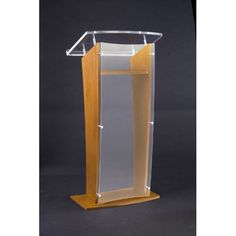 Acrylic Panel Full Podium | Wayfair