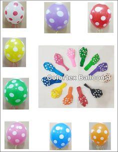 Printed Balloons, Mylar Balloons, Latex Balloons, Wholesale Balloons, Birthday Balloons, Polka Dots, China, Creative, Prints