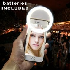 Shop Now XTERMO Smartphone LED Ring Selfie Light for Enhancing Photo LightOrder in good conditions XTERMO Smartphone LED Ring Selfie Light for Enhancing Photo Light Before OE702ELAA7LM5NANMY-16122804 Mobiles & Tablets Mobile Accessories Phone Camera Flash Lights OEM XTERMO Smartphone LED Ring Selfie Light for Enhancing Photo Light