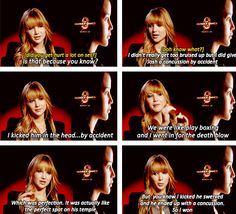 Jennifer lawrence on giving Josh a concussion