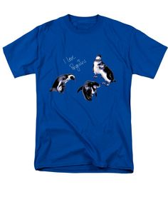 Cute Penguins T-Shirt by Pennie  McCracken