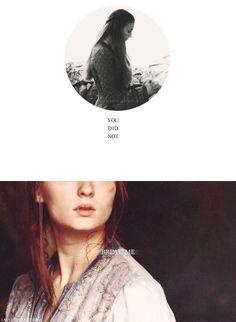Sansa Stark: You did not break me. #got #asoiaf