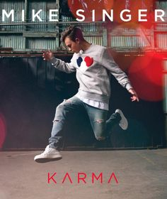 Mike Singer auf dem karma cover
