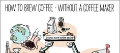 Here's How to Brew Coffee Even When Stranded On a Desert Island [INFOGRAPHIC] | FoodbeastFoodbeast