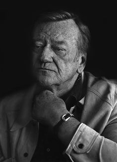 John Wayne, Having trouble with his voice that day. Tough as nails! The greatest real-life hero of them all! Hollywood Stars, Classic Hollywood, Old Hollywood, Iowa, John Wayne Quotes, Westerns, Tough As Nails, Actor John, Tough Guy