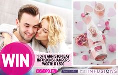 WIN 1 of 8 Arniston Bay Infusions Hampers Worth R1 500