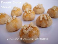 my kitchen notes: Peanut Butter Cookies