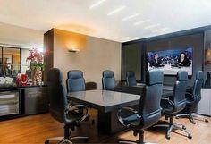 Sala de reuniões. @ligiaenicollearquitetura