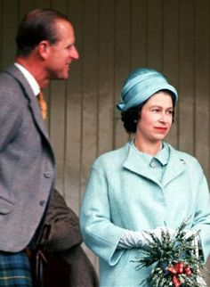 The Queen with Prince Philip , in the 1960s