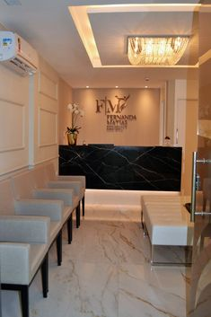 Medical Office Decor, Dental Office Design, Modern Office Design, Clinic Interior Design, Clinic Design, Esthetics Room, Model House Plan, Hotel Room Design, Boutique Interior