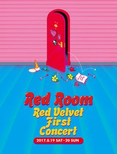 [INFO] 170705 Red Velvet announces their 1st ever solo concert 'Red Room' on August 19 & 20 at Seoul Olympic Hall