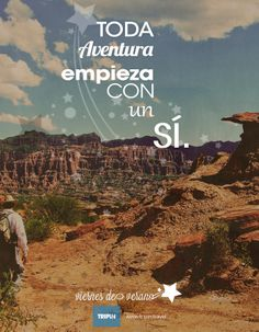 Toda aventura comienza con un sí !! A viajar :: http://www.tripin.travel/destinos-argentina.html :: The adventure begins with a yes !! Wanderlust !