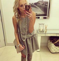 #me #girl #blonde #ootd #ootn #fashion #love #chanel || #dress @marlu.pl