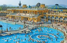 Szecheny Baths - spa in Budapest approx £12-15 entry for a day, massages and treats around same price