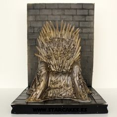 Tarta Juego de Tronos Game of Thrones cake The Iron Throne  síguenos en https://www.facebook.com/starcakes.es