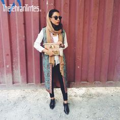 Iranian Street Style | via The Tehran Times | for more just take s look at it instagram official page : @thetehrantimes