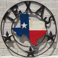 buy popular 5f78b e8c26 Texas Map Circle Sign