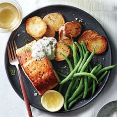 You'll be surprised at the sophistication of this easy, 5-ingredient dish. You can honestly never go wrong when you start with salmon and...
